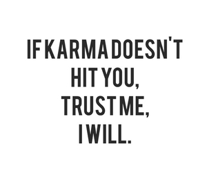 karma, quote, and hit image