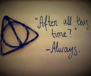 all, always, and harrypotter image