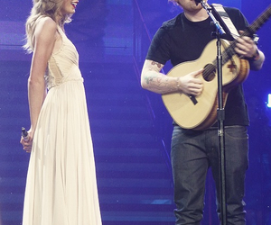 Taylor Swift, ed sheeran, and sweeran image