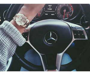 car, mercedes, and style image