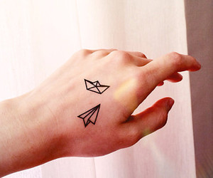 cool, creative, and paper boat image