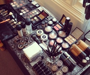 cosmetics, beauty, and lashes image