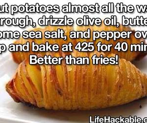 diy, fries, and hacks image