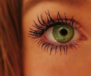 eye, make up, and mascara image
