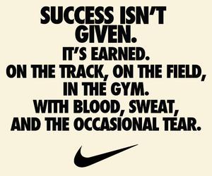 nike, success, and gym image