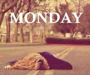 monday, school, and hate image