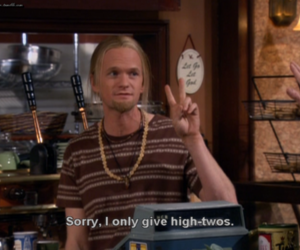 barney, Barney Stinson, and high five image