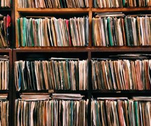 music, indie, and vinyl image
