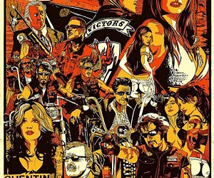 quentin tarantino and hell ride image