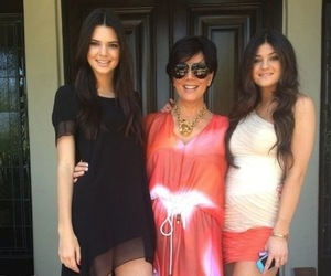 girls, kendall jenner, and kylie jenner image