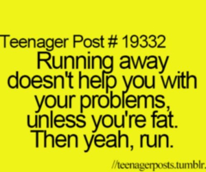 teenager post, funny, and fat image