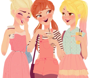 anna, frozen, and mean girls image