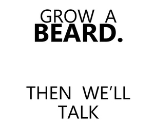 beard, sexy, and text image