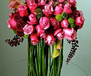floral, floralart, and flowers image