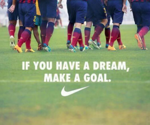 Dream, goals, and nike image