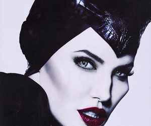 maleficent, Angelina Jolie, and malefique image