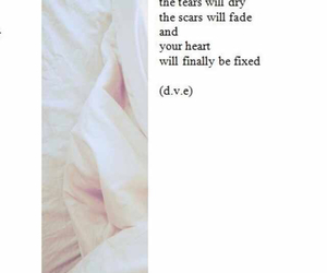 quote, hope, and scars image