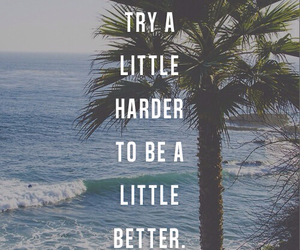 quote, better, and beach image