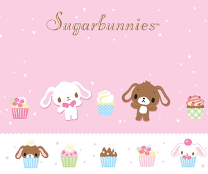 background, sanrio, and sugarbunnies image