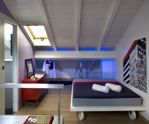 architecture., a floating bed, and the casa d'artista image