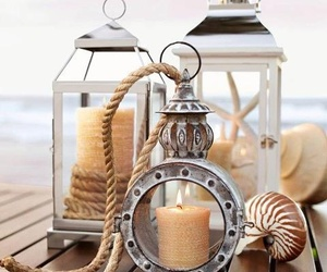 beach and candles image