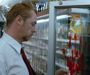 shaun of the dead and Simon Pegg image