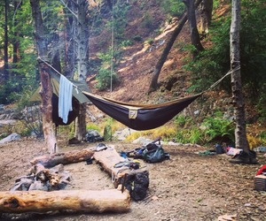 camping, hippie, and inspiration image