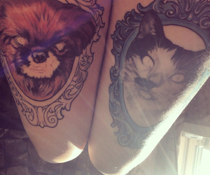 art, ink, and tattooed image