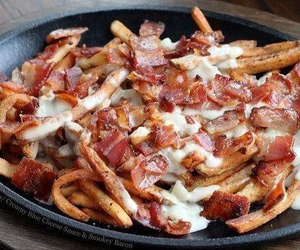 bacon, cheese, and yum image