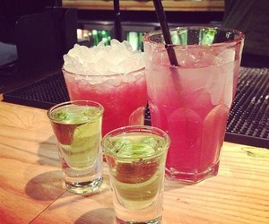 alcohol, drink, and green image