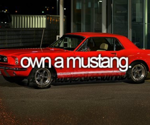before i die, mustang, and own image