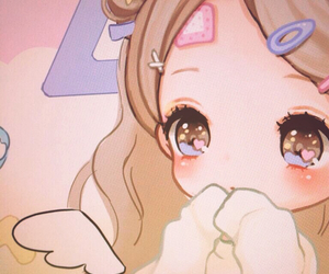 angel, kawaii, and パステル image