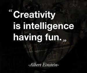 quote, creativity, and intelligence image