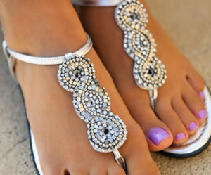 beautiful, fashion, and sandals image