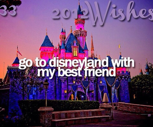 wish and disneyland image