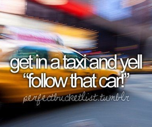 taxi, before i die, and car image
