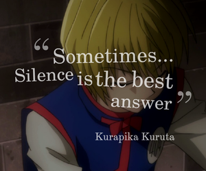 anime, hunter x hunter, and quotes image