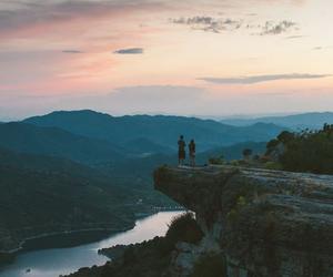 couple, landscape, and romantic image