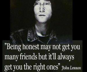 friends, quotes, and honesty image