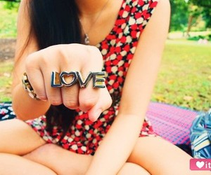 fashion, ring, and love image