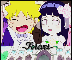 chibi, cute couple, and hinata image