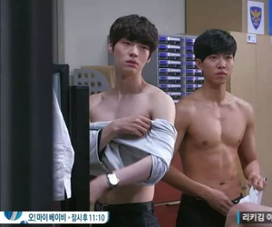 abs, kdrama, and oppa image