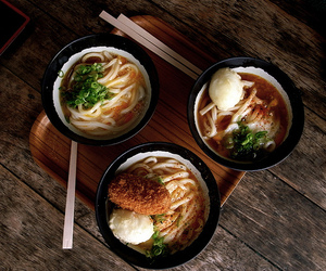 food, japanese food, and udon image