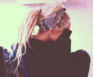 blonde, dreads, and girl image