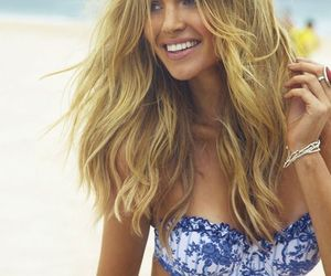 girl, bikini, and summer image
