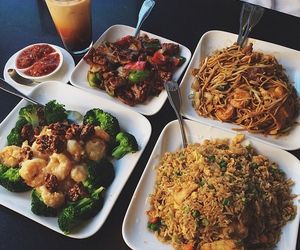 food, yummy, and chinese image