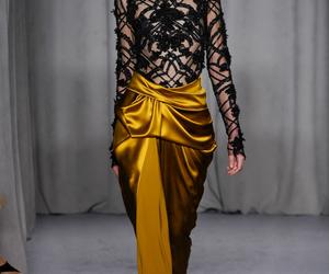 beautiful, gold, and silk image