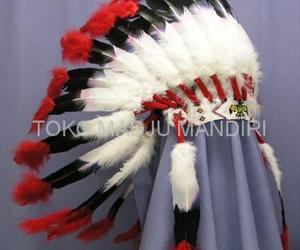 feather, native american, and headdress image