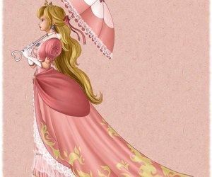 nintendo, princess peach, and prinzessin peach image