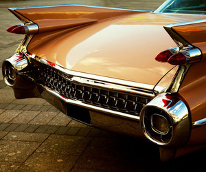 car, cadillac, and vintage image